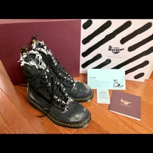 Off-White Shoes - Off White x Dr. Martens Limited Denim boots 7ee96d638